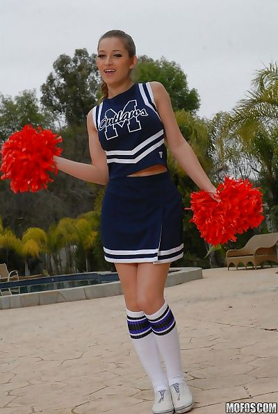 Teen cheerleader Dani..