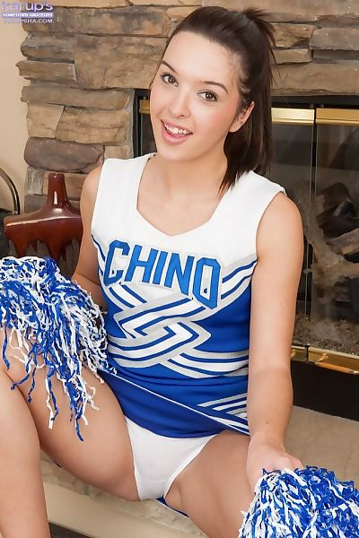 Teen cheerleader Jaslene..